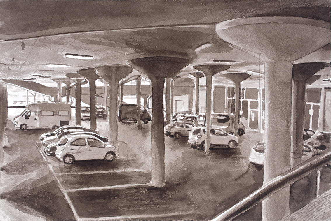 23 Merihaka parking hall